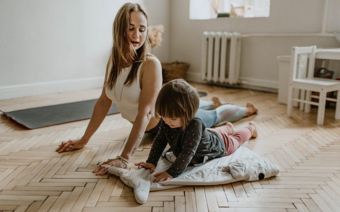 在家練習瑜伽以保持身心平衡
